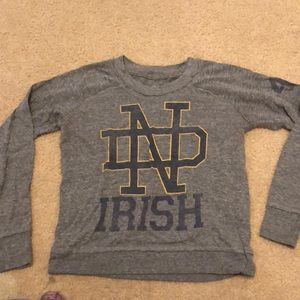 Size XS notre dame sweater from Aerie
